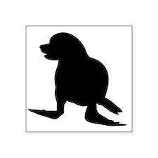Seal Silhouette Sticker