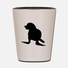 Seal Silhouette Shot Glass