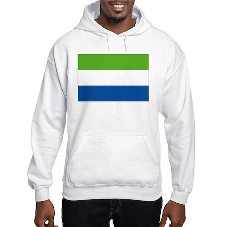Sierra Leone flag Hooded Sweatshirt