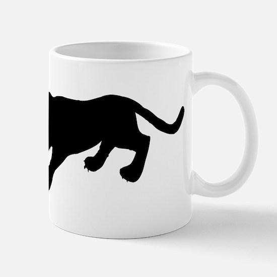Cougar Silhouette Mugs
