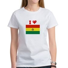 I love Bolivia Flag Tee