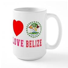 Peace Love Belize Mug