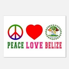 Peace Love Belize Postcards (Package of 8)