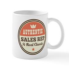 Sales Rep Vintage Small Mug
