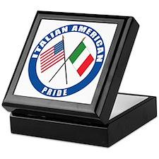 Italian american Pride Keepsake Box
