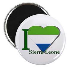 I love Sierra Leone Magnet