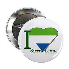 I love Sierra Leone Button