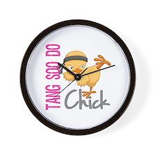 Tang Soo Do Chick 2 Wall Clock