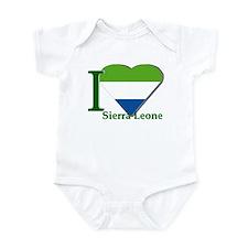 I love Sierra Leone Infant Bodysuit