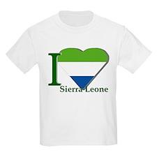 I love Sierra Leone T-Shirt