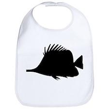 Needle Nose Fish Silhouette Bib