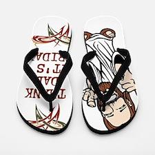Thank God Its Friday Flip Flops