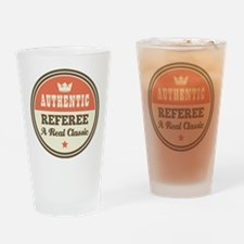Referee Vintage Drinking Glass