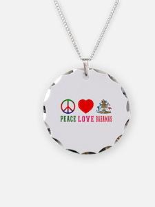 Peace Love Bahamas Necklace