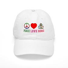Peace Love Bahamas Baseball Cap