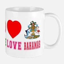Peace Love Bahamas Mug