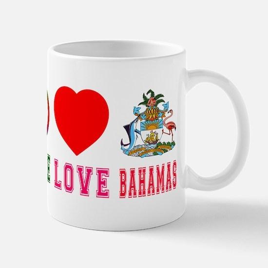 Peace Love Bahamas Mug