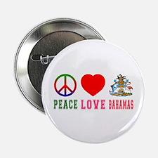 "Peace Love Bahamas 2.25"" Button"