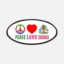 Peace Love Bahamas Patches
