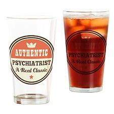 Psychiatrist Vintage Drinking Glass
