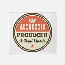 Producer Vintage Throw Blanket