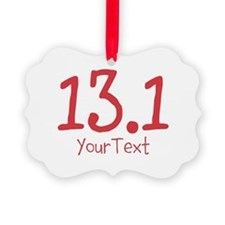 Customize RED 13.1 Picture Ornament