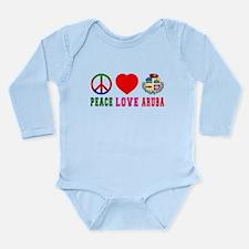 Peace Love Aruba Onesie Romper Suit