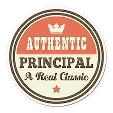 Vintage Principal Round Car Magnet
