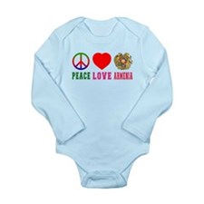 Peace Love Armenia Long Sleeve Infant Bodysuit