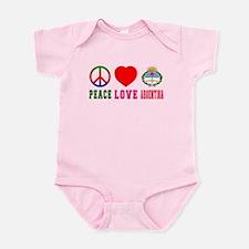 Peace Love Argentina Infant Bodysuit