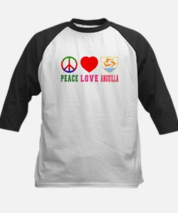 Peace Love Anguilla Tee