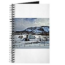 Park City Barn in Snow Journal