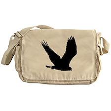 Hawk Silhouette Messenger Bag