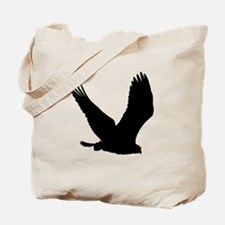 Hawk Silhouette Tote Bag