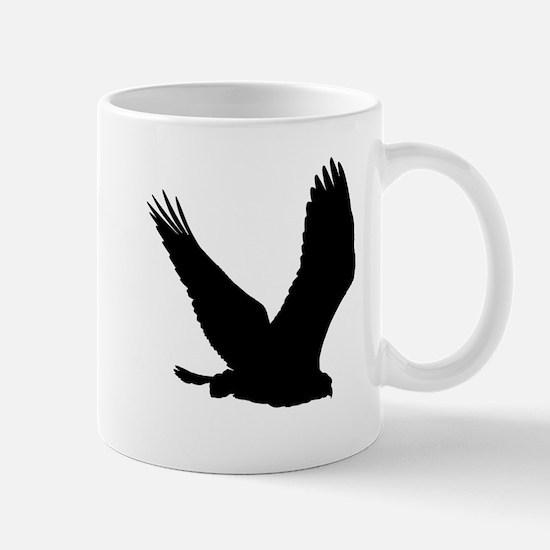 Hawk Silhouette Mugs