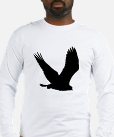 Hawk Silhouette Long Sleeve T-Shirt