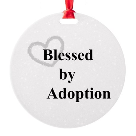 Blessed by Adoption Ornament