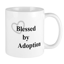 Blessed by Adoption Mugs