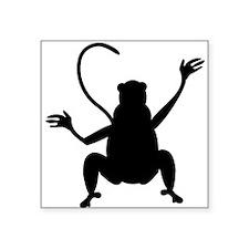 Baboon Silhouette Sticker