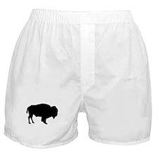 Buffalo Silhouette Boxer Shorts