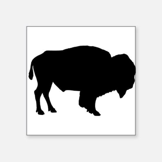 Buffalo Silhouette Sticker