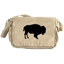 Buffalo Silhouette Messenger Bag