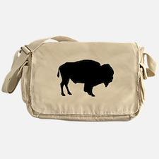Buffalo Silhouette Messenger Bag