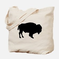 Buffalo Silhouette Tote Bag