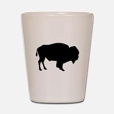 Buffalo Silhouette Shot Glass