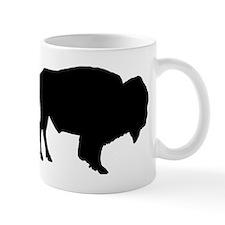 Buffalo Silhouette Mugs