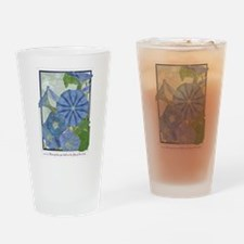 Morning Glory Drinking Glass
