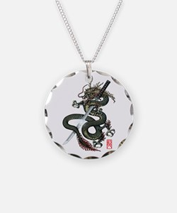 Dragon Katana Necklace