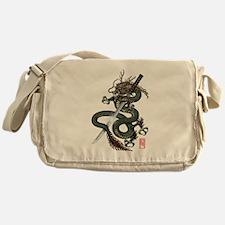 Dragon Katana Messenger Bag