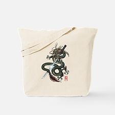 Dragon Katana Tote Bag